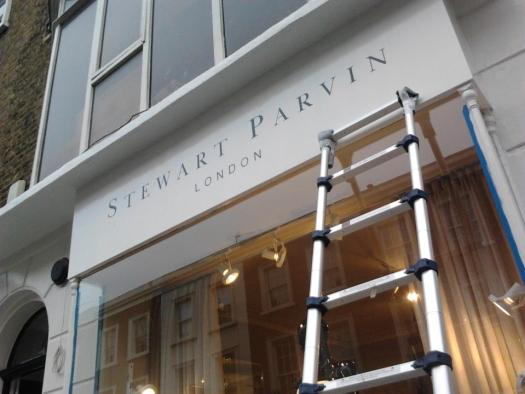 Stewart Parvin sign by Nick NGS