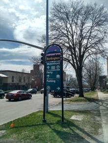 Wayfinding Signage for Drivers