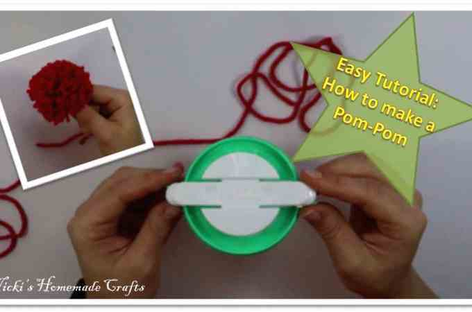 Tutorial: How to make a pom-pom with a pom-pom maker