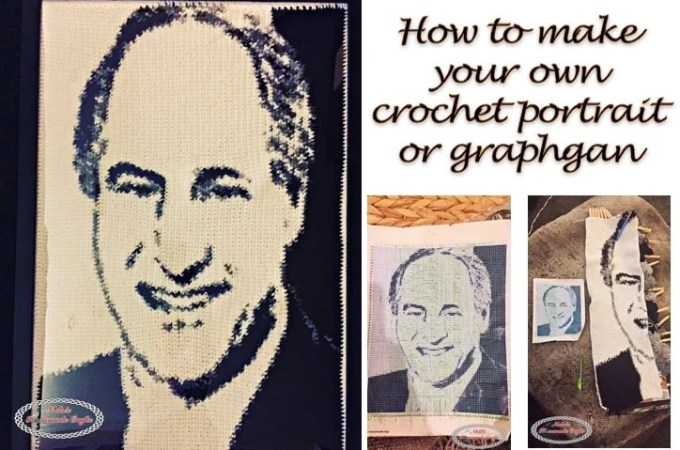 How to make a crochet graphgan or crochet portrait – crochet tutorial