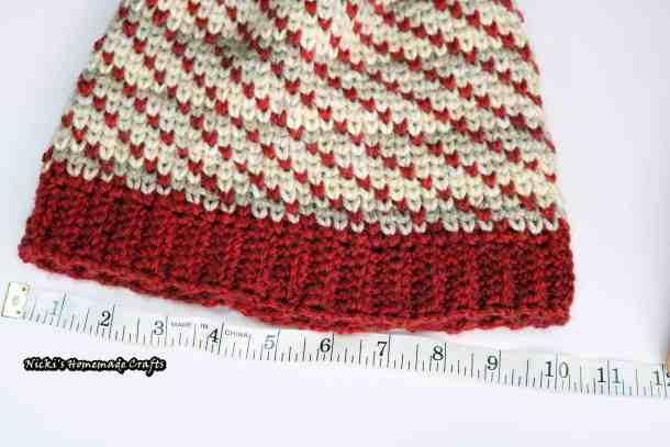 Swirly Heart Hat - Free Crochet Pattern by Nicki's Homemade Crafts