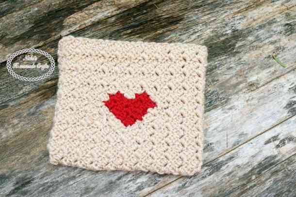 Heart Envelope of Valentine's CAL 2017 Free Crochet Pattern by Nicki's Homemade Crafts