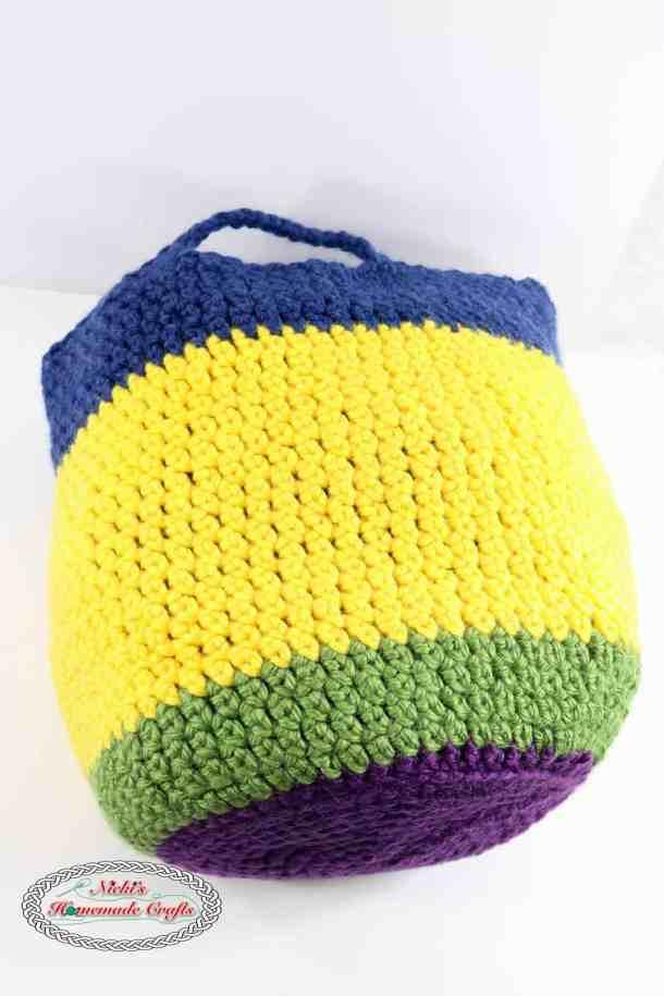 Flower Basket Pattern Free Crochet Pattern Nickis Homemade Crafts