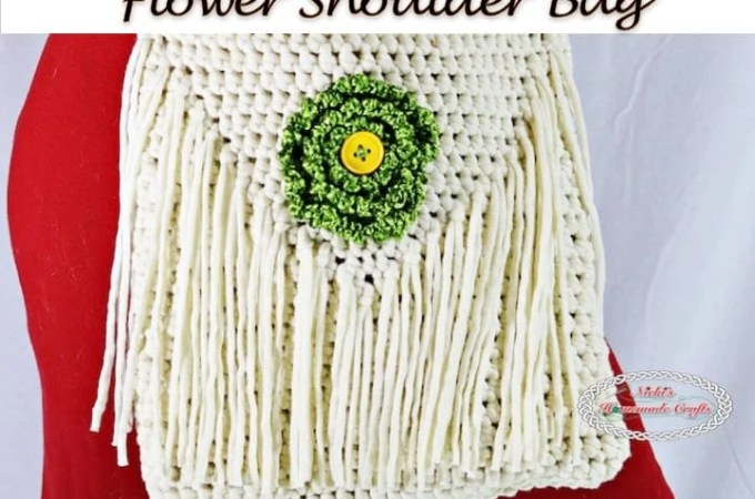 Flower Shoulder Bag – Free Crochet Pattern