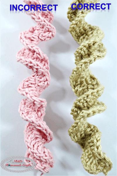 DNA Helix Crochet Pattern