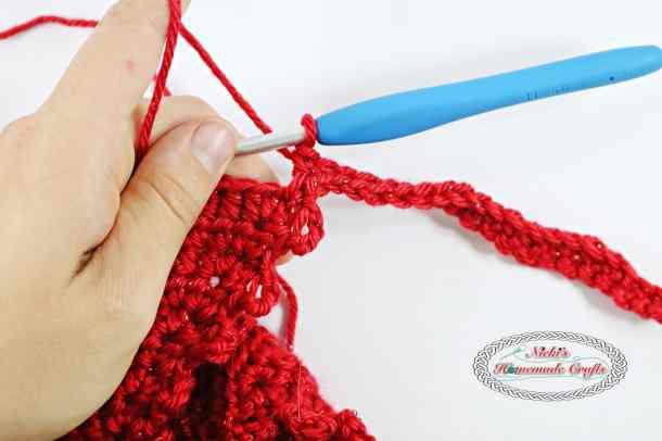 Summer Picot Head Kerchief - Free Crochet Pattern