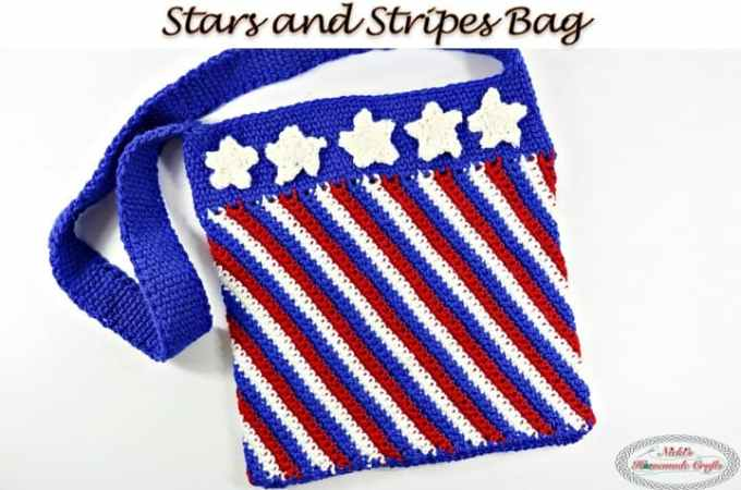 Stars and Stripes Bag – Free Crochet Pattern