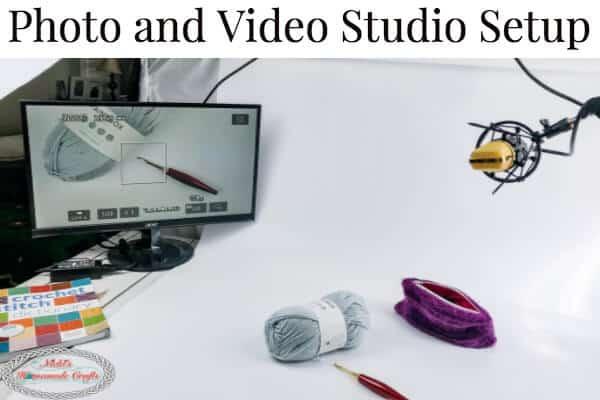 Photo and Video Studio Setup