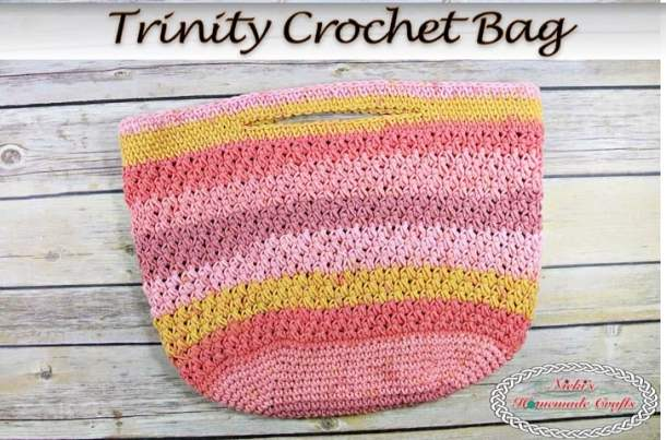 Trinity Crochet Bag - Free Crochet Pattern - Nicki\'s Homemade Crafts