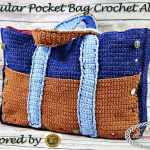 Modular Pocket Bag Crochet Along (CAL) - Free Crochet Pattern by Nicki's Homemade Crafts - sponsored by Lion Brand