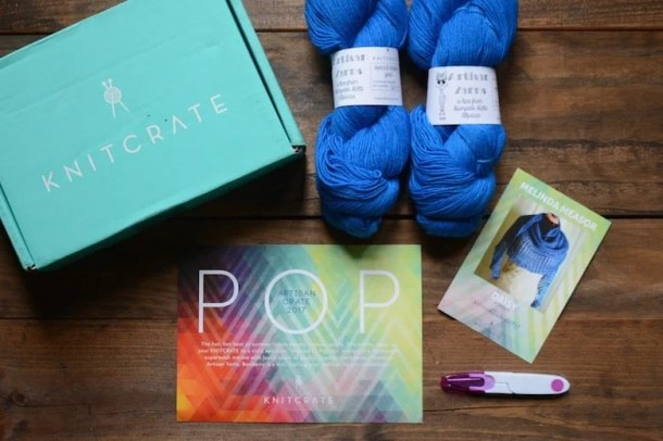 KnitCrate Yarn Box Subscription