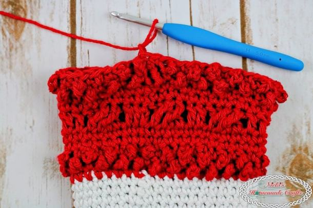 Berry and Cables for the Adult Christmas Santa and Elf Booties - Free Crochet Pattern