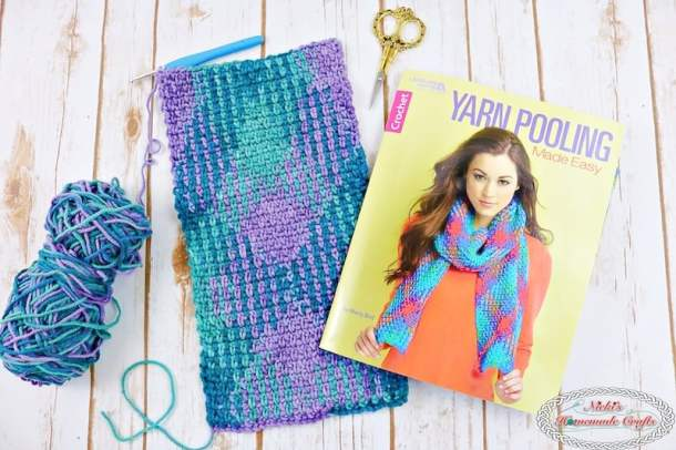 Yarn Pooling Made Easy Blog Tour - Book Review and Giveaway by Nicki's Homemade Crafts #crochet #bookreview #yarnpooling #giveaway #marlybird #redheart