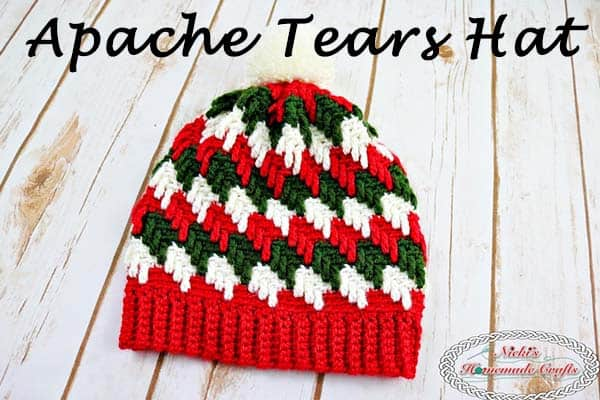 Apache Tears Hat – Free Crochet Pattern – Crochet Along Part 1