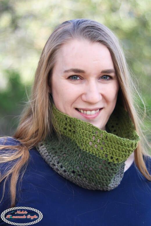 Filet Crochet Scarf pattern