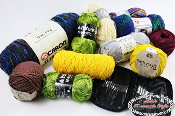 30K Facebook Followers Giveaway, 3 Winner, lots of yarn by Nicki's Homemade Crafts
