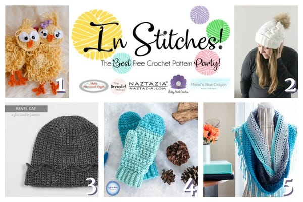 In Stitches – Best Free Crochet Pattern Party #3