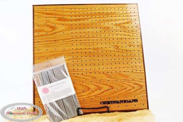 Chetnanigans BlockAll 812 Board to block granny squares
