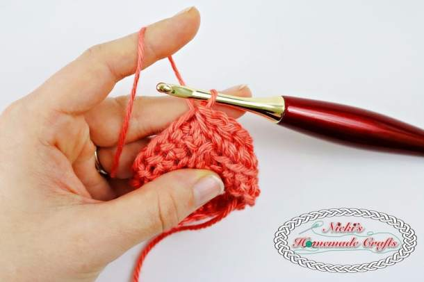 Learn The Linked Half Double Crochet Photo And Video Tutorial