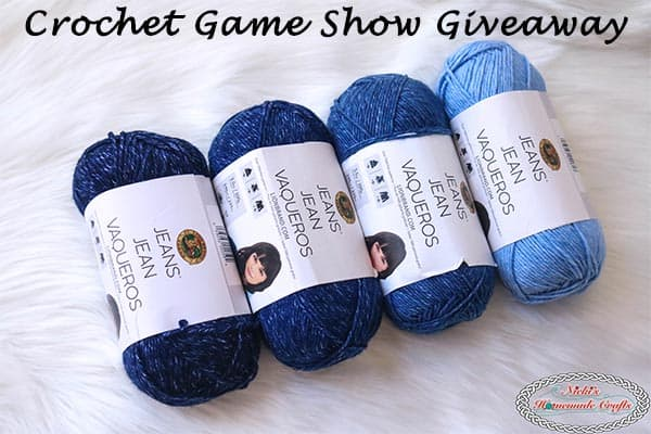 Monthly Crochet Game Show Giveaway – April 2018