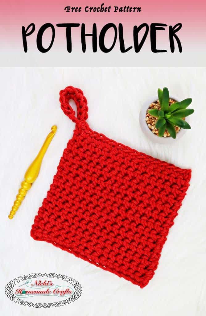 Antique Pot Holder Crochet Patterns Picswe
