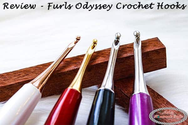 Review and Giveaway – Furls Odyssey Crochet Hooks
