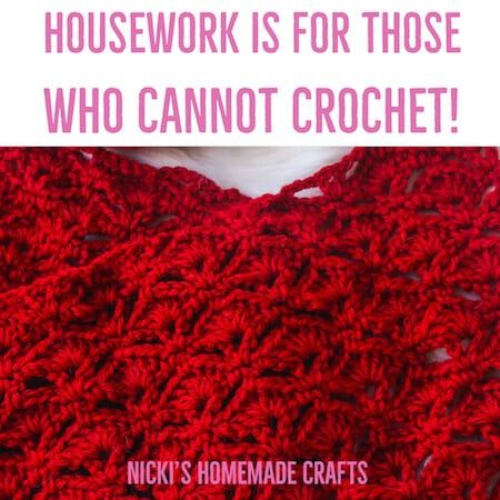 Crochet Meme funny - Housework is for those who cannot crochet