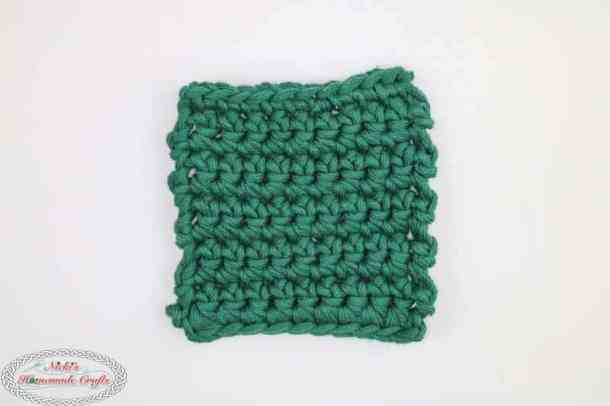 Mystery Crochet Along Part 2 green square