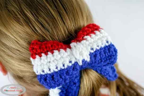 Crochet Hair Bows