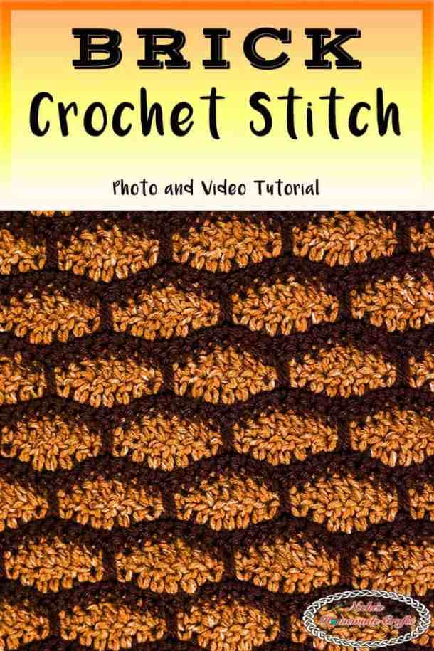 Brick Crochet Stitch Tutorial