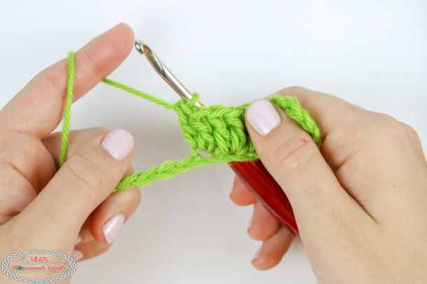 how to increase double crochet