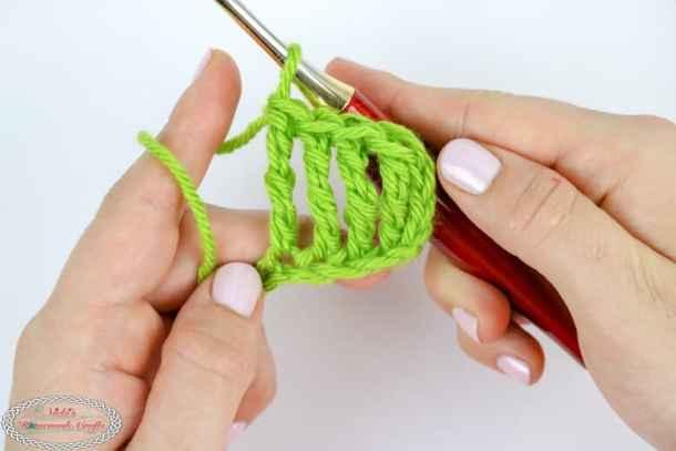 How To Crochet A Double Treble Crochet Beginner Video Photo Tutorial