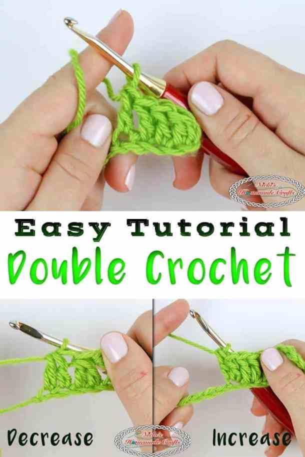 Double Crochet - Beginner Tutorial