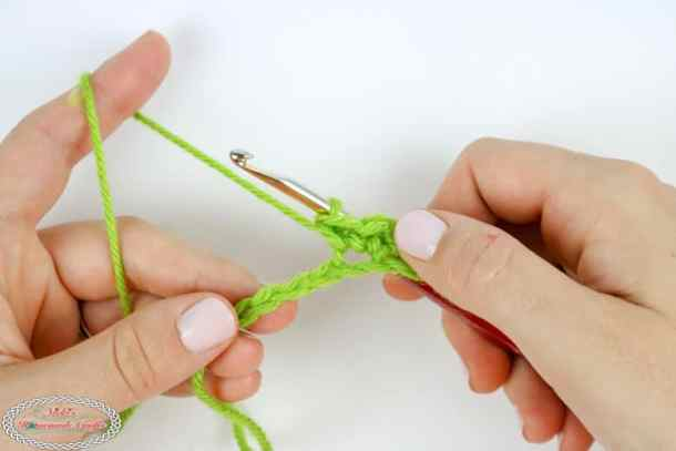 Single crochet increase