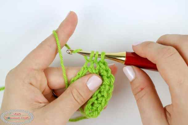 single crochet decrease