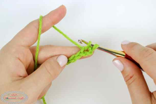 crochet a single crochet tutorial