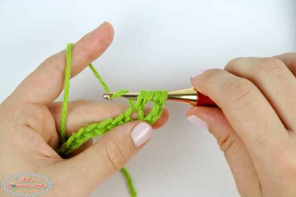 Steps to master the treble crochet