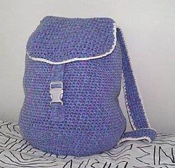 backpack back to school free crochet pattern