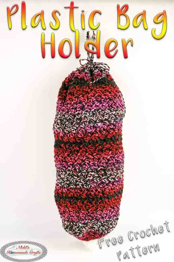 plastic bag holder crochet pattern free