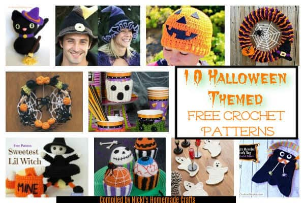 10 free halloween themed crochet patterns