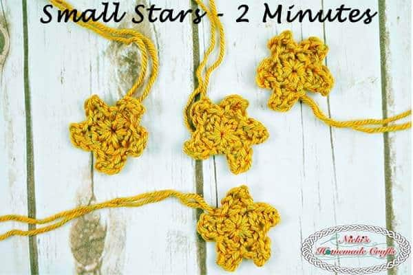 Crochet a Star in 2 minutes