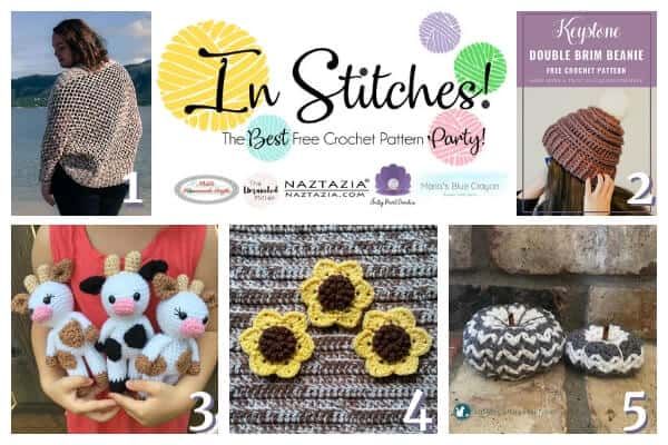 In Stitches Best Free Crochet Pattern Party 19 Link Up