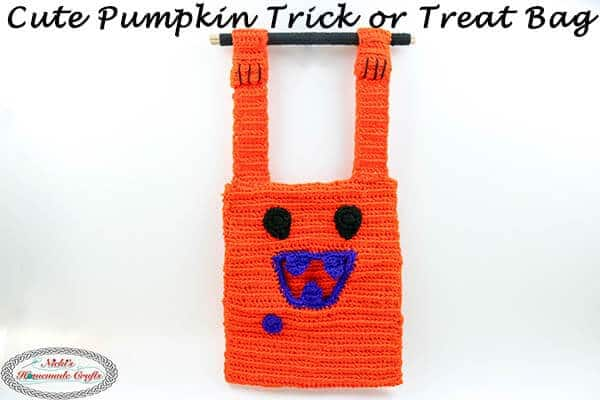 How to Crochet a Unique Trick or Treat Bag – Free Pattern