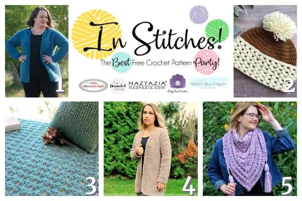 In Stitches Link up party with free crochet patterns #21