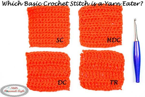 basic crochet stitch yarn easter revealed with experiement
