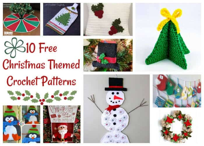 Free Christmas Crochet Patterns.10 Absolutely Most Popular Amazing Free Christmas Crochet