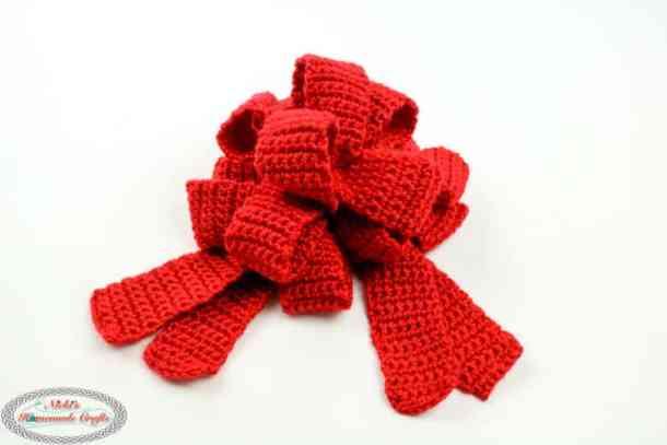 Pull String Bow crochet pattern