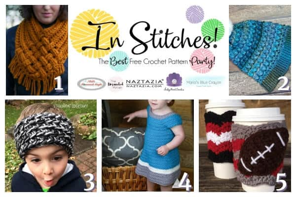 In Stitches Link up Crochet Pattern Party 23