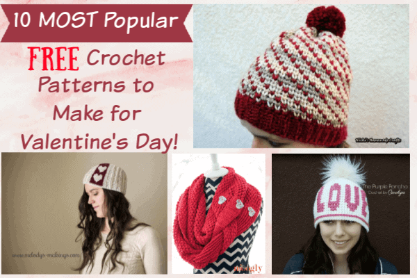 306eb18095d 10 Most Popular Free Crochet Patterns to Make for Valentine s Day