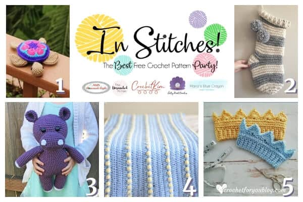 In Stitches Link up Free Crochet pattern #27